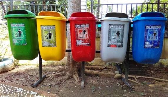 Arti dari Warna Tong Sampah