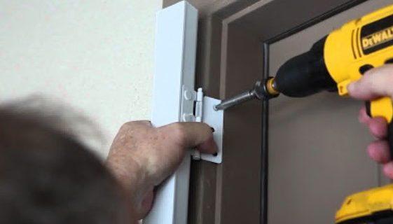 Cara Memasang Atau Mengganti Engsel Pintu Kayu