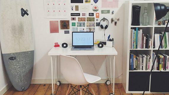 5 Tips Bikin Ruang Kerja di Rumah Lebih Ergonomis