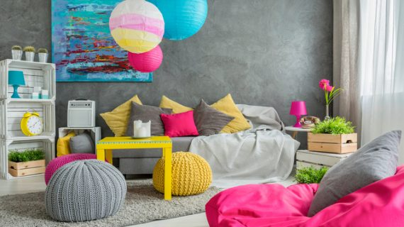Tips Dekorasi Rumah dengan Ragam Warna Cerah Ceria
