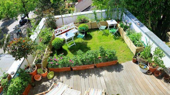 Trik Membuat Taman di Atas Rumah